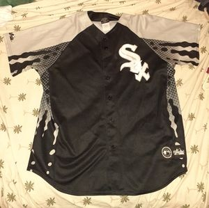 Majestic Mens Genuine Merchandise Sox Jersey